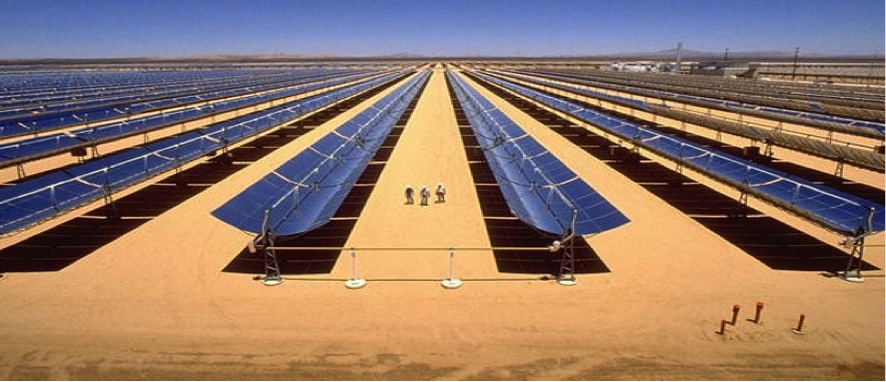 Noor 1 Csp Plant On The Ouarzazate Solar Complex Grupo